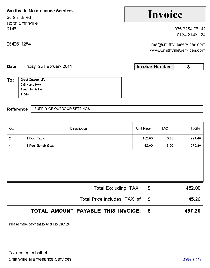 Amatospizzaus  Gorgeous Small Business Invoices And Invoice Logos Using Easyas Software  With Inspiring Sample Of An Invoice With Sales Tax  Tax Invoice With Attractive Receipt Format In Excel Also Definition Receipts In Addition How To Design A Receipt And Receipts For Child Care As Well As Warehouse Receipt Financing Additionally Things To Claim On Tax Without Receipts From Easyasaccountingsoftwarecom With Amatospizzaus  Inspiring Small Business Invoices And Invoice Logos Using Easyas Software  With Attractive Sample Of An Invoice With Sales Tax  Tax Invoice And Gorgeous Receipt Format In Excel Also Definition Receipts In Addition How To Design A Receipt From Easyasaccountingsoftwarecom