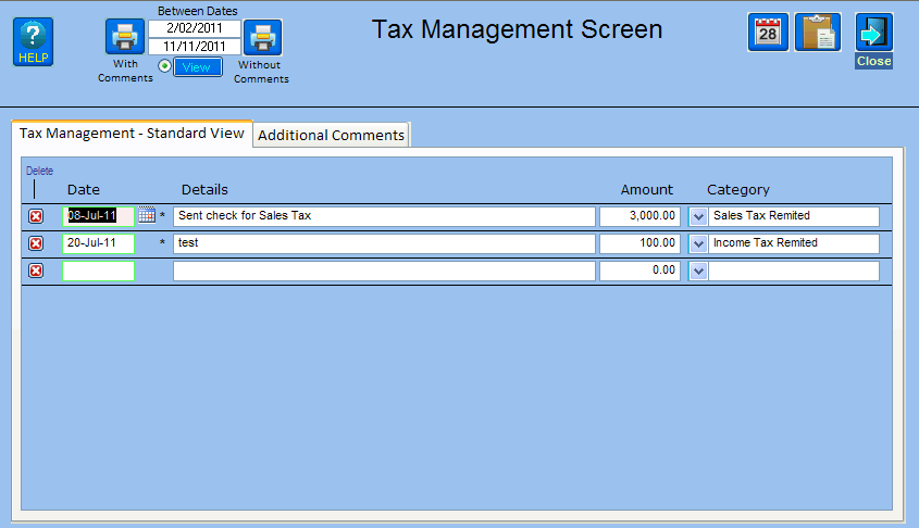 Income Tax Management